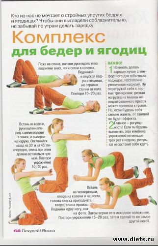 Как укрепить ноги и ягодицы в домашних условиях