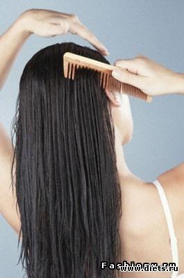 Если смазать кончики волос репейным маслом