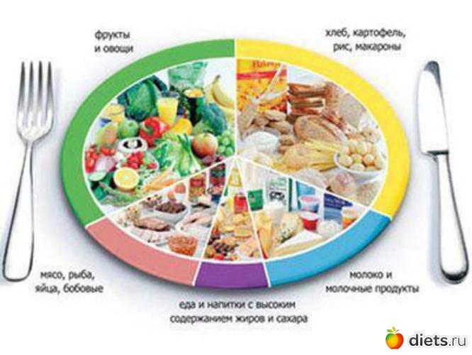 план питания для похудения женщинам