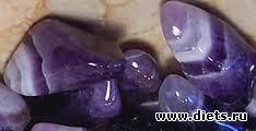 Камни фиолетового цвета фото