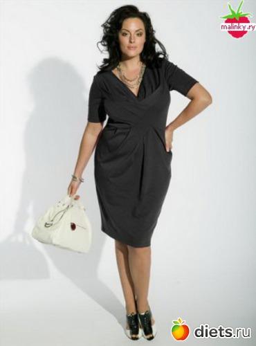 Мода для полных женщин 2011: : Дневники - diets.ru