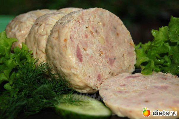 Домашняя куриная колбаса рецепт