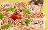 закуска из лаваша и семги рецепт #15