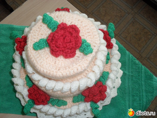 Вяжем тортики