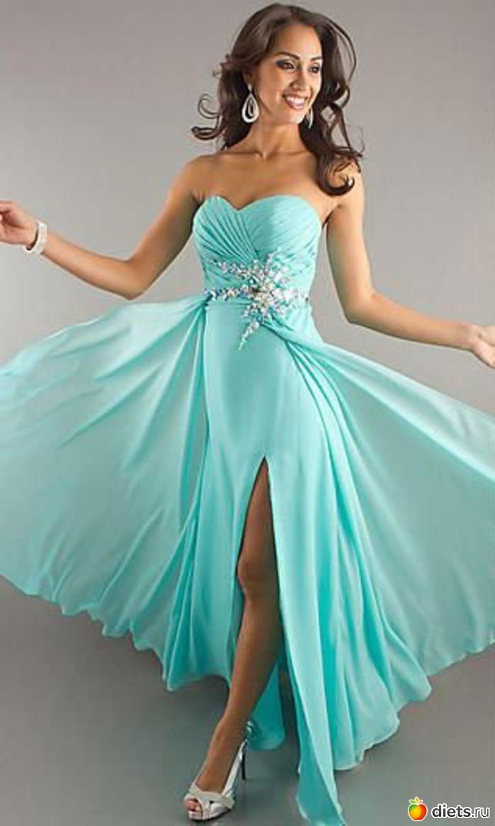 Голубое платье 1, Голубое платье 2