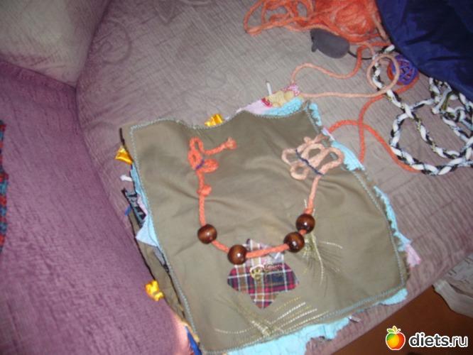 Развивающий коврик своими руками легко